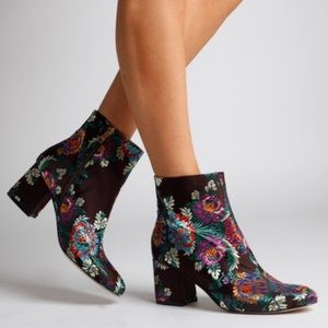 Floral Ankle Boot